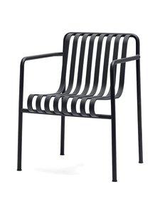 HAY - Palissade Dining -tuoli käsinojilla 63 x 66 cm - ANTHRACITE (HIILENHARMAA)   Stockmann