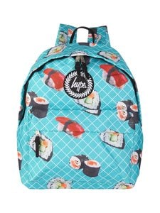 Just Hype - Sushi Roll Backpack -reppu - TURQUOISE AOP | Stockmann