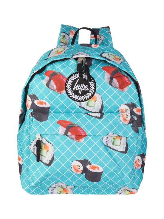 Just Hype - Sushi Roll Backpack -reppu - TURQUOISE AOP | Stockmann - photo 1