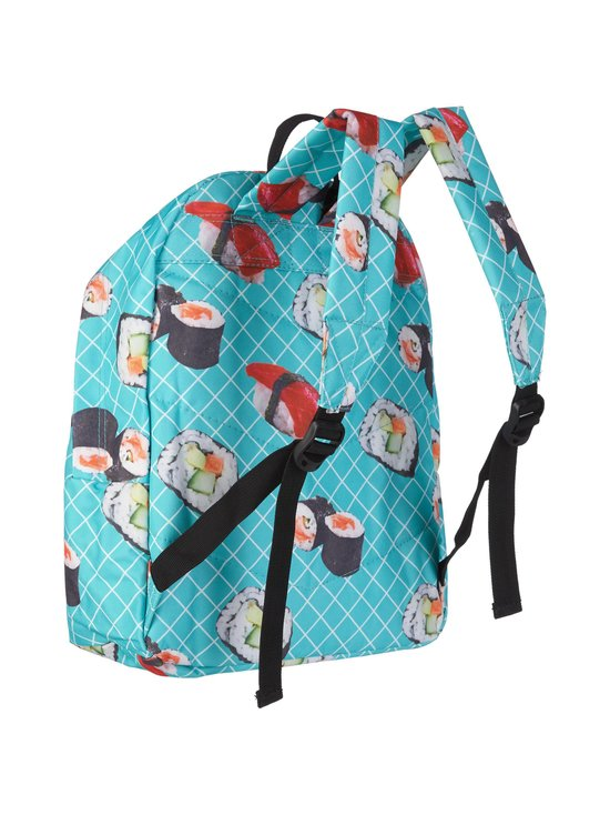 Just Hype - Sushi Roll Backpack -reppu - TURQUOISE AOP | Stockmann - photo 2