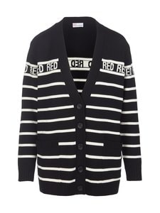 RED Valentino - Stripe-neuletakki - 0NA BLACK CBO | Stockmann