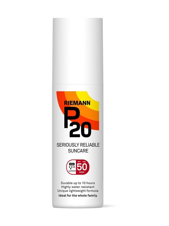 P20 SPF 50 -aurinkosuojasuihke 100 ml