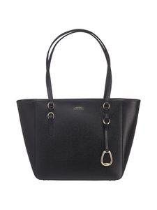 Lauren Ralph Lauren - Bennington Medium Shopper -nahkalaukku - BLACK   Stockmann