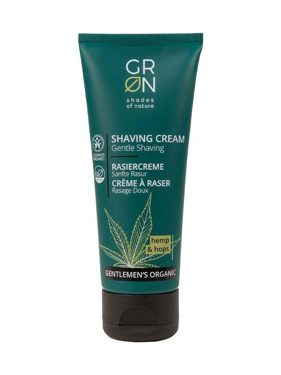 GRN - Gentlemen's Organic Shaving Cream Hemp & Hop -parranajovoide 75 ml - NOCOL | Stockmann - photo 1