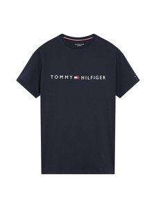 Tommy Hilfiger - CN SS Tee Logo -paita - CHS NAVY BLAZER | Stockmann