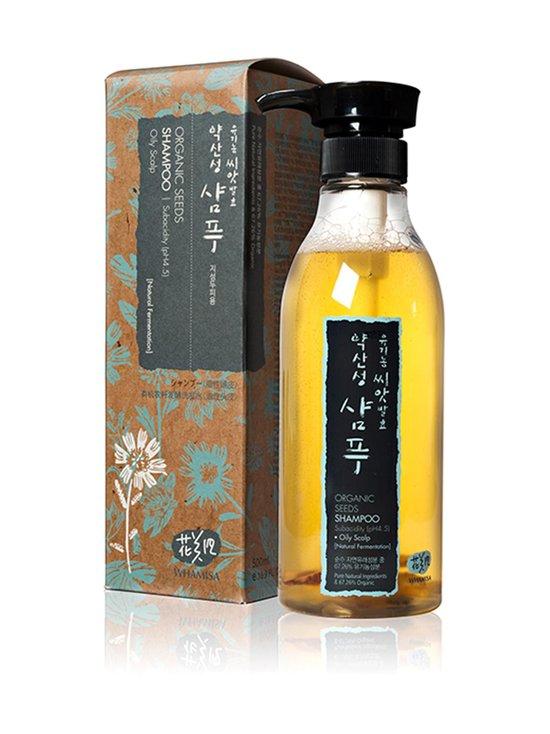 Whamisa - Organic Seeds Oily Scalp -shampoo 500 ml - NOCOL | Stockmann - photo 1
