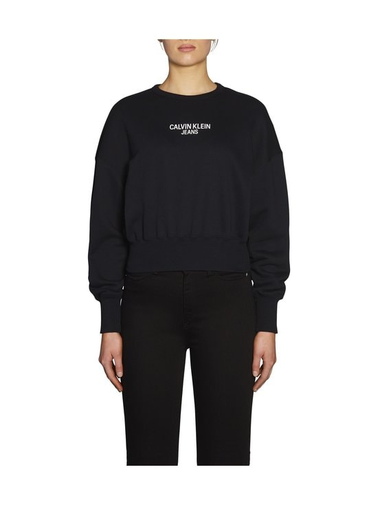 Calvin Klein Jeans - Institutional Back Logo -collegepaita - BAE CK BLACK | Stockmann - photo 3