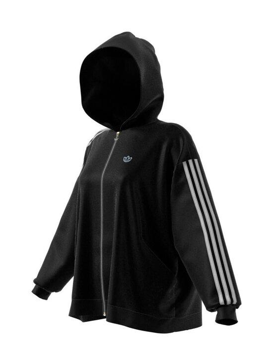 adidas Originals - Full Zip Hoodie -huppari - BLACK BLACK | Stockmann - photo 1