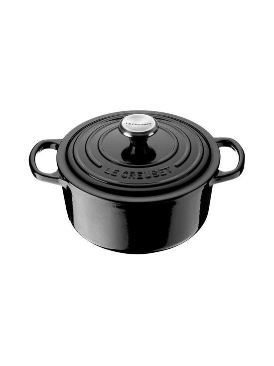 Le Creuset - Signature-pata, pyöreä 3,3 l - MUSTA | Stockmann - photo 1