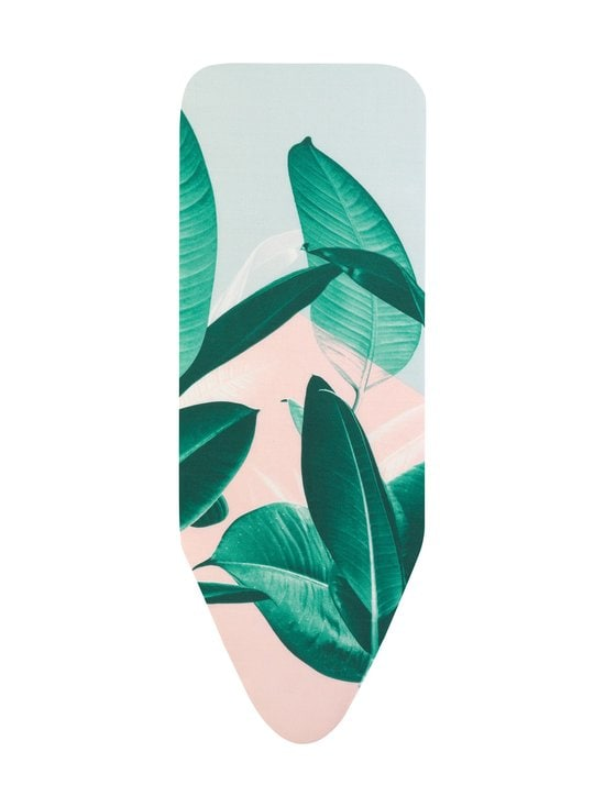 Brabantia - Tropical Leaves -silityslaudan päällinen, 124 x 45 cm (C) - TROPICAL LEAVES (VIHREÄ/VAALEANPUNAINEN/VAALEANSININEN) | Stockmann - photo 1