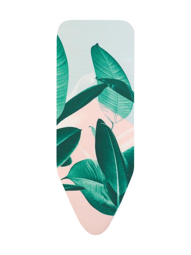 Tropical Leaves -silityslaudan päällinen, 124 x 45 cm (C)