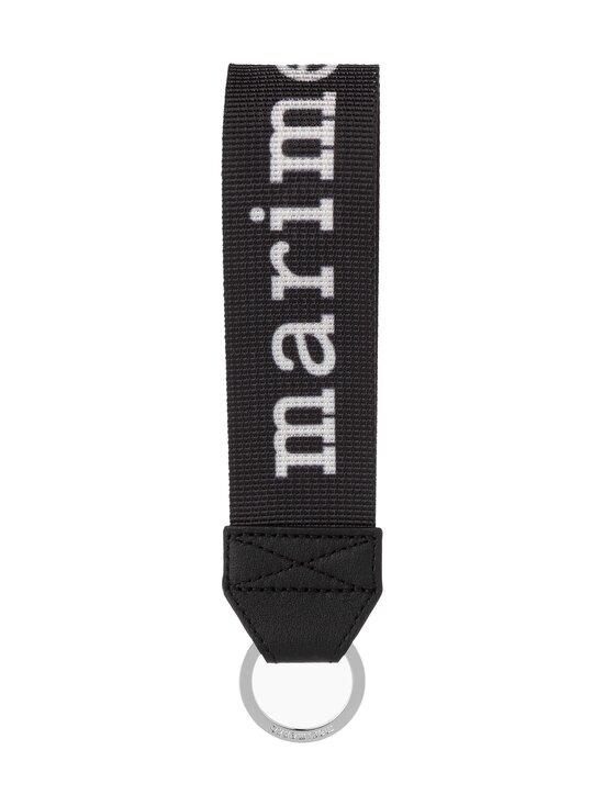 Marimekko - Joukkio Logo -avaimenperä - 910 BLACK, WHITE   Stockmann - photo 1