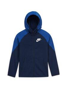 Nike - Sportswear Hoodie -hupparitakki - MIDNIGHT NAVY/MIDNIGHT NAVY/WHITE | Stockmann