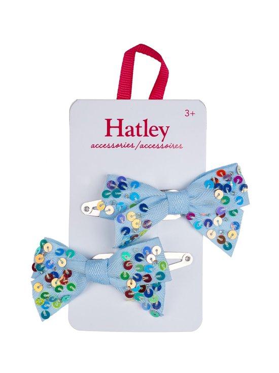 Hatley - Chambray Sequin Bows -hiusklipsi 2 kpl - BLUE   Stockmann - photo 1