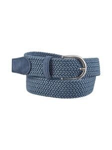 GANT - Elastic Braid Belt -vyö - 464 SALTY SEA | Stockmann
