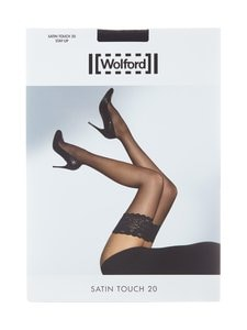 Wolford - Satin Touch -stay-up-sukat 20 den - BLACK | Stockmann