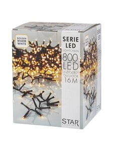 Star - Serie LED 800 -valosarja 16 m - BLACK | Stockmann