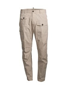 Dsquared - Cotton Sexy Cargo -housut - 800 STONE | Stockmann