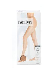 Norlyn - 3D Silky 20 den -sukkahousut - POWDER | Stockmann