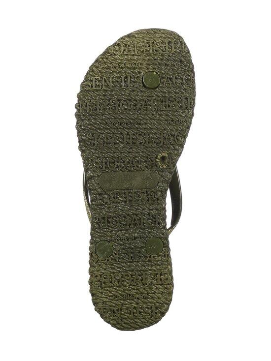 ILSE JACOBSEN - Flip-Flops With Glitter -sandaalit - 410 ARMY | Stockmann - photo 3