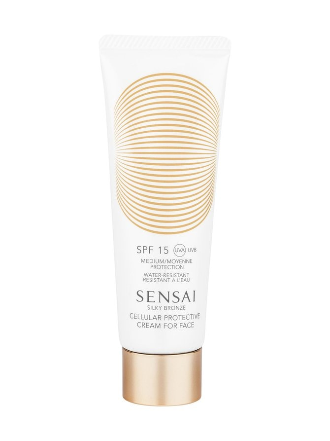 Silky Bronze Cellular Protective Cream for Face SPF 15 -aurinkosuojavoide 50 ml