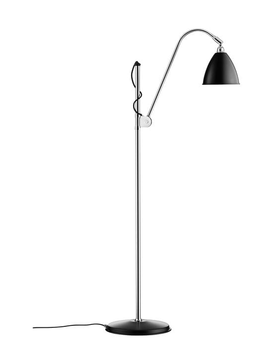 Gubi - Bestlite BL3 Floor Lamp Small -lattiavalaisin - BLACK SEMI MATT | Stockmann - photo 1