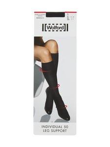 Wolford - Individual 50 den Leg Support -polvisukat - BLACK | Stockmann
