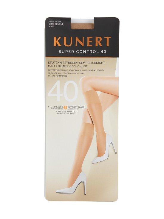 Kunert - Super Control 40 den -polvisukat - CASHMERE | Stockmann - photo 1