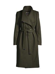 Ted Baker London - Rose Midi Wool Wrap Coat -villakangastakki - 33 OLIVE | Stockmann