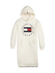 Tommy Hilfiger - Heritage Logo Hoodie Dress -collegemekko - Z00 IVORY PETAL | Stockmann