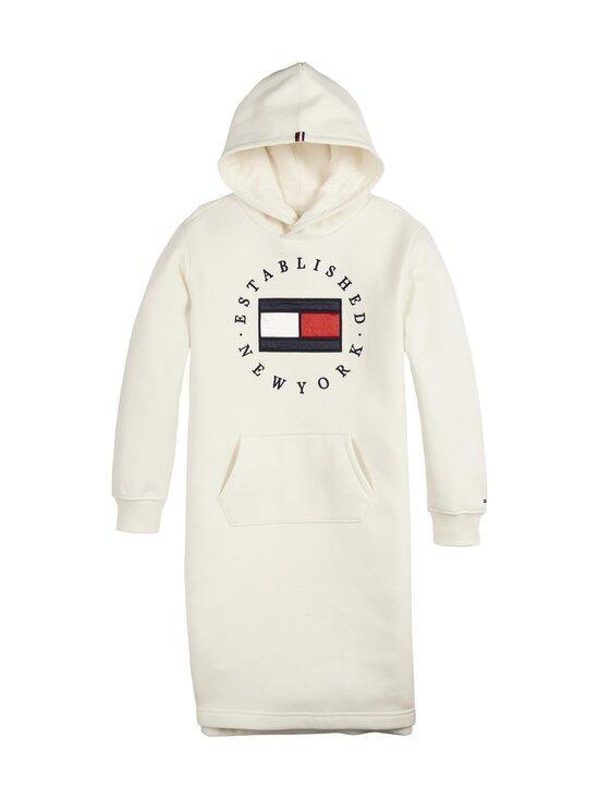 Tommy Hilfiger - Heritage Logo Hoodie Dress -collegemekko - Z00 IVORY PETAL   Stockmann - photo 1