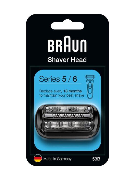 Braun - Series 5/6 53B -parranajokoneen teräverkko ja terät - BLACK | Stockmann - photo 1