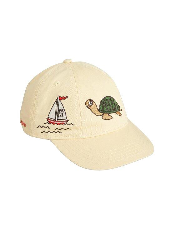 Mini Rodini - Turtle Soft Cap -lippalakki - BEIGE | Stockmann - photo 1