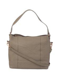 A+more - Sanie Shoulder Bag -nahkalaukku - TAUPE | Stockmann