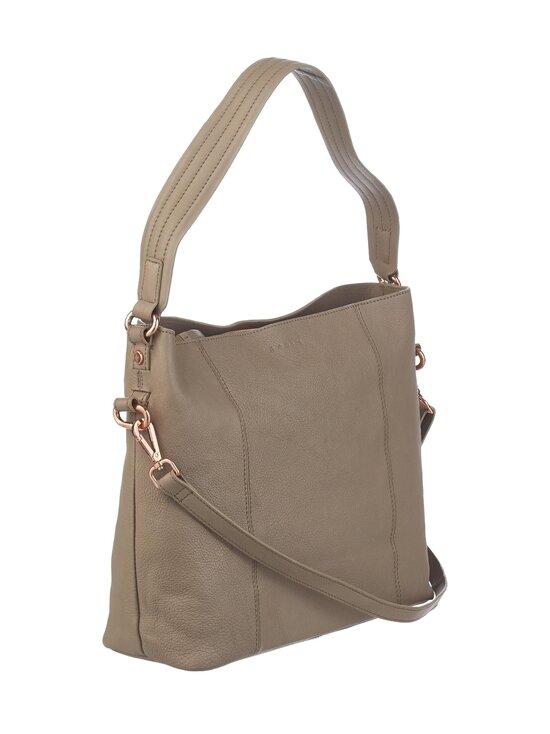 A+more - Sanie Shoulder Bag -nahkalaukku - TAUPE   Stockmann - photo 2