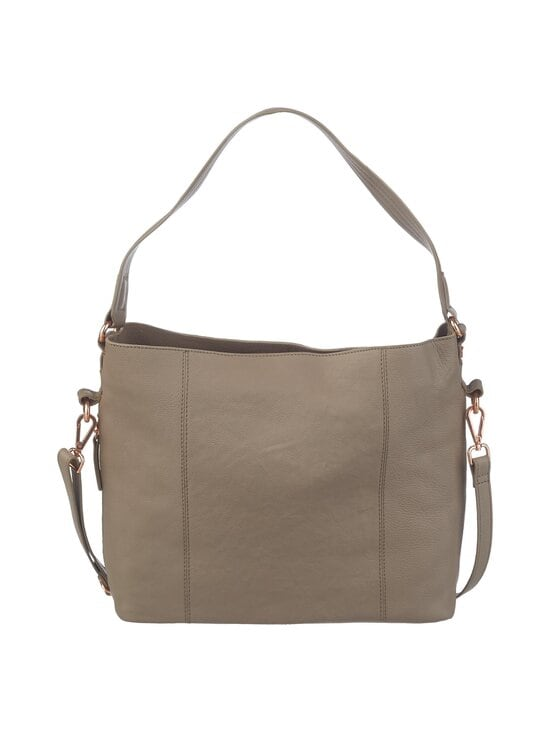 A+more - Sanie Shoulder Bag -nahkalaukku - TAUPE   Stockmann - photo 3