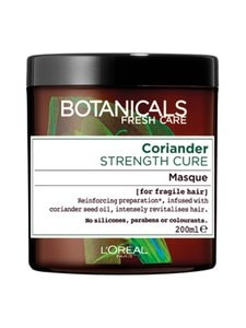 BOTANICALS - Coriander Strength Cure -hiusnaamio hennoille hiuksille 200 ml | Stockmann