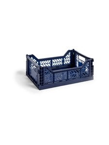 HAY - Colour Crate M -laatikko 40 x 30 x 14,5 cm - NAVY | Stockmann