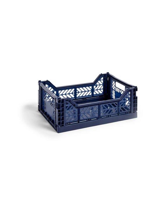 HAY - Colour Crate M -laatikko 40 x 30 x 14,5 cm - NAVY | Stockmann - photo 1
