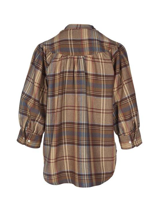 Polo Ralph Lauren - Plaid Keyhole Shirt -pusero - 3JM1 864 BRWN/B | Stockmann - photo 2