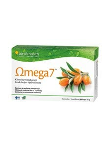 Bertils Health - Omega7-kaksoistyrniöljykapseli 60 kaps. 42 g - null | Stockmann
