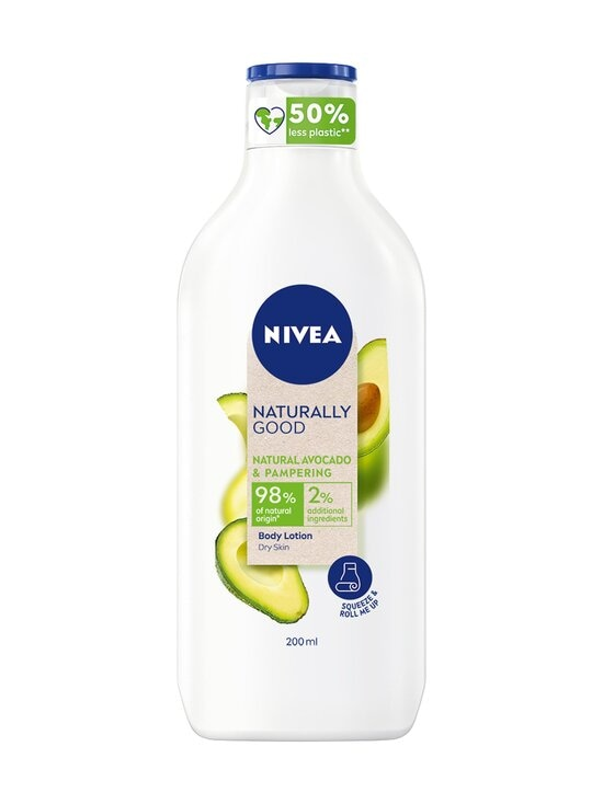 NIVEA - Naturally Good Avocado Body Lotion -kosteusvoide 200 ml - NOCOL | Stockmann - photo 1