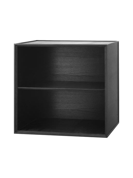 By Lassen - Frame 49 -laatikko + hylly - BLACK STAINED ASH (TUMMANHARMAA) | Stockmann - photo 1