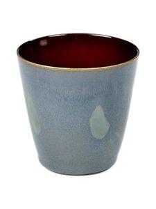 Serax - Terres De Rêves Goblet Conic S -kuppi - SMOKEY BLUE/RUST (SININEN/PUNARUSKEA)   Stockmann