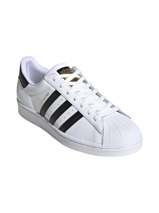 adidas Originals - Superstar-nahkatennarit - FTWWHT/CBL FTWWHT/CBLACK/FTWWHT   Stockmann - photo 5