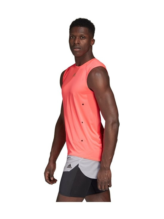 adidas Performance - Heat.Rdy Sleeveless Tee -treenipaita - SIGNAL PINK | Stockmann - photo 5