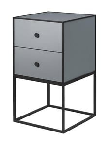 By Lassen - Frame Sideboard 35 -sivupöytä - DARK GREY | Stockmann