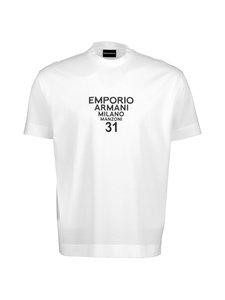 Emporio Armani - T-paita - 0151 BIANCO MILANO | Stockmann