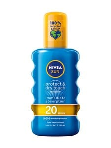 NIVEA - Protect & Dry Touch Invisible Sun Spray SK 20 -aurinkosuojasuihke 200 ml - null | Stockmann