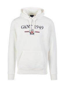 GANT - D1. 1949 Crest Sweat Hoodie -huppari - 113 EGGSHELL | Stockmann